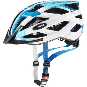 UVEX Air Wing Helmet Kids blue-white
